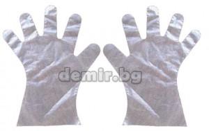Ръкавици полиетиленови за еднократна употреба