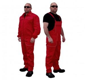 Яке и полугащеризон - лятно работно облекло