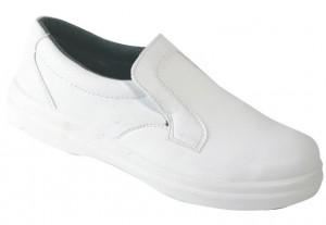 Бели обувки половинки panda s1