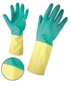 Ръкавици неопрен латекс киселиноустойчиви