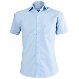 Мъжка риза светло синя